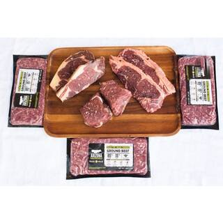 Arizona Grass Raised Beef Co Steak and Ground Beef Package|https://ak1.ostkcdn.com/images/products/10550558/P17630050.jpg?impolicy=medium