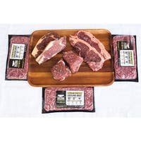 Arizona Grass Raised Beef Co Steak and Ground Beef Package