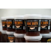 Arizona Grass Raised Beef Co Grass-fed Grass-finished Broth and Ground Beef Combo Pack