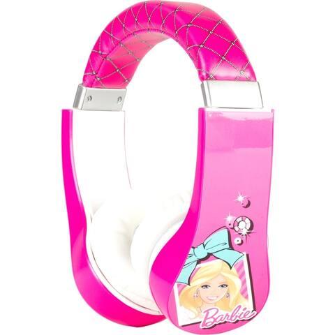 Sakar Kids Barbie Kids Safe Friendly Headphones