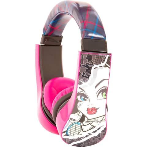Sakar Kids Monster High Kids Safe Friendly Headphones