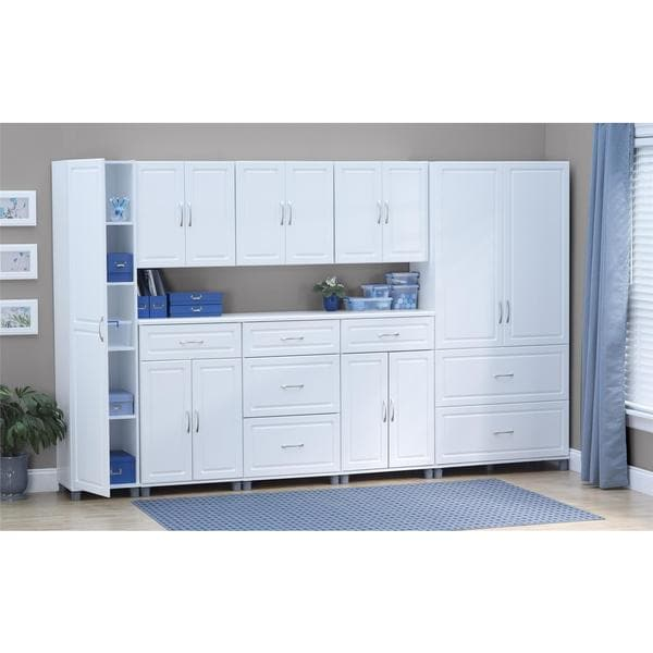 SystemBuild White Kendall 24-inch 1-drawer, 2-door Base Storage ...
