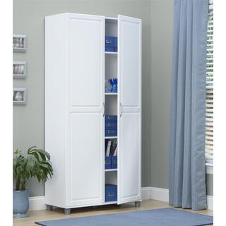 Altra SystemBuild White Kendall 36 inch Storage Cabinet