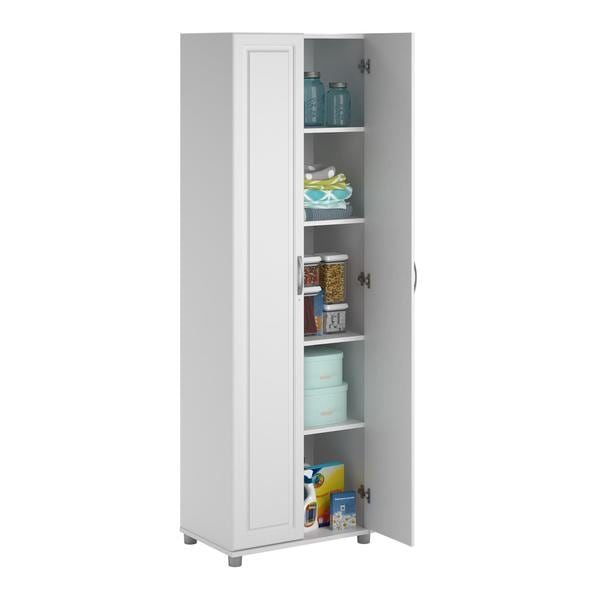 System Build White Kendall 24-inch Storage Cabinet - Free Shipping ...