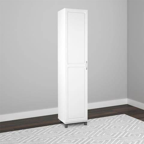 Avenue Greene SystemBuild Baldwin White Storage Cabinet