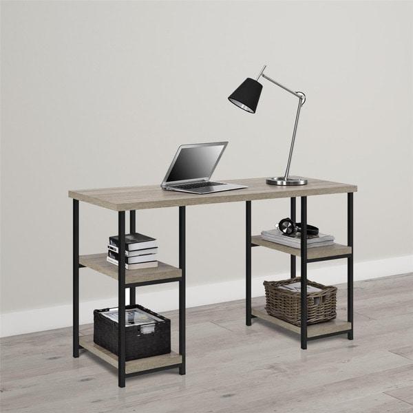 Avenue Greene Northway Double Pedestal Desk Free
