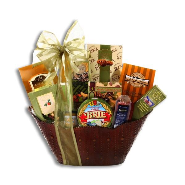 Christmas wine gift baskets free shipping