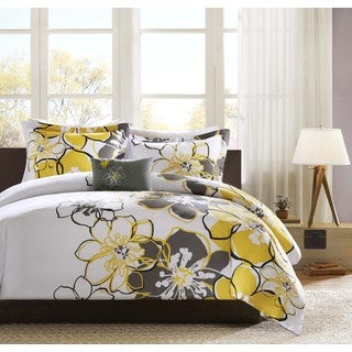 Mi Zone Mackenzie 4-piece Duvet Cover Set
