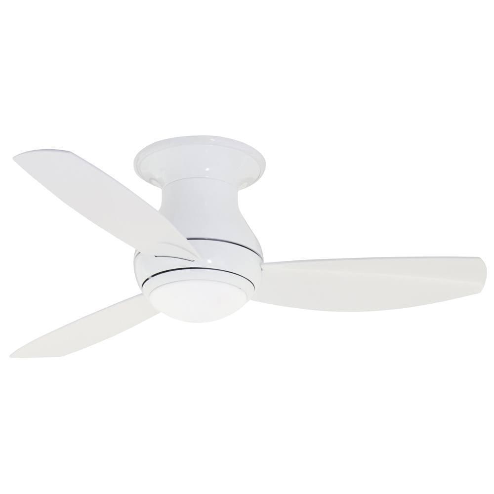 Emerson Curva Sky 44-inch Appliance White Modern Indoor/O...