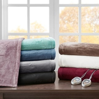 Beautyrest Heated Plush Blanket