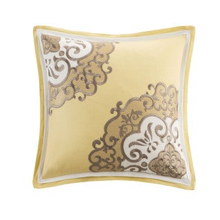 Medallion Cotton 16-inch Square Pillow