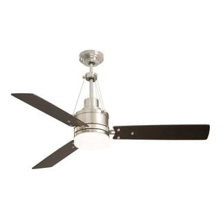 Emerson Highpointe 54-inch Brushed Steel Modern Ceiling Fan