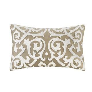 N Natori Medallion Cotton Oblong Pillow