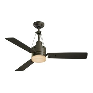 Emerson Highpointe 54-inch Golden Espresso Modern Ceiling Fan