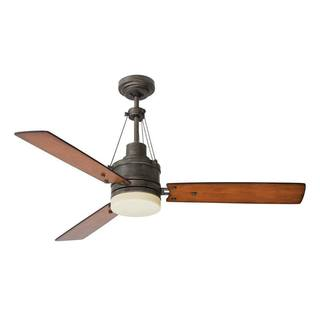 Emerson Highpointe 54-inch Vintage Steel Modern Ceiling Fan with Reversible Blades