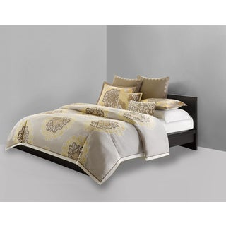 Medallion Cotton 3-piece Duvet Cover Set