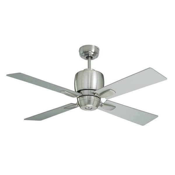 Emerson Veloce 46-inch Brushed Steel Modern Indoor/Outdoor Ceiling ...