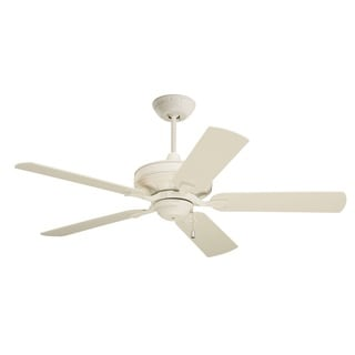 Emerson Bella 52-inch Summer White Transitional Ceiling Fan with Reversible Blades