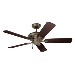 Emerson Bella 52-inch Vintage Steel Transitional Ceiling Fan with Reversible Blades