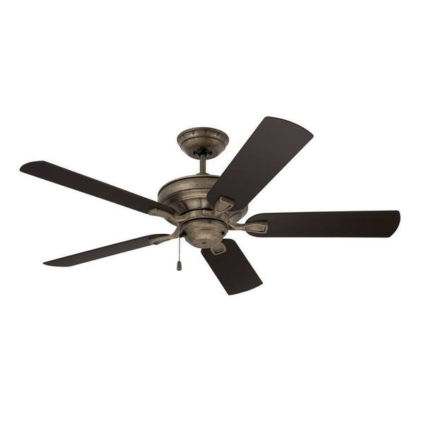 Emerson veranda 52 inch vintage steel traditional indoor Outdoor ceiling fan sale