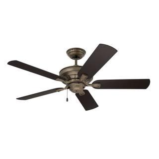 Emerson Veranda 52-inch Vintage Steel Traditional Indoor/Outdoor Ceiling Fan