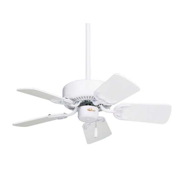 Emerson Northwind 29-inch Appliance White Small Traditional Ceiling Fan with Reversible Blades