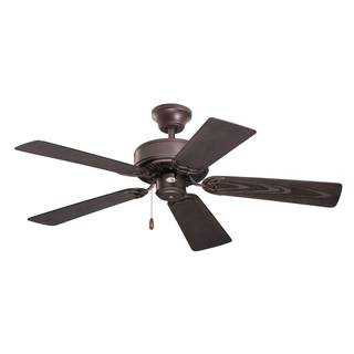 Emerson Summer Night 42-inch Oil Rubbed Bronze Traditional Indoor/Outdoor Ceiling Fan