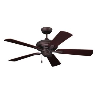 Emerson Monterey II 52-inch Oil Rubbed Bronze Transitional Ceiling Fan with Reversible Blades