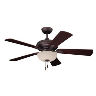 Emerson Monterey Lumina 52-inch Oil Rubbed Bronze Modern Transitional Ceiling Fan with Reversible Blades