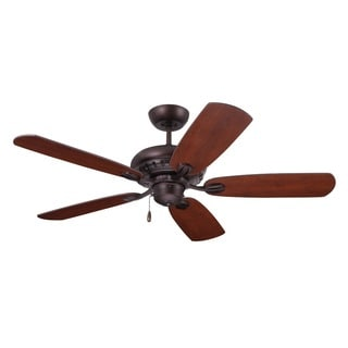 Emerson Avondale 52-inch Venetian Bronze Transitional Ceiling Fan with Reversible Blades