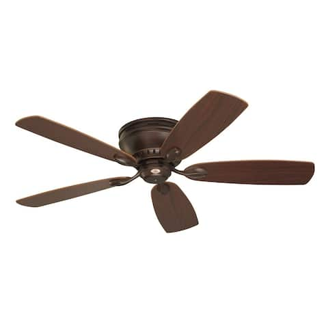 Emerson Prima Snugger 52-inch Venetian Bronze Traditional Ceiling Fan with Reversible Blades