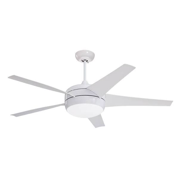 Emerson midway eco 54 inch appliance white modern energy star emerson midway eco 54 inch appliance white modern energy star ceiling fan aloadofball Images
