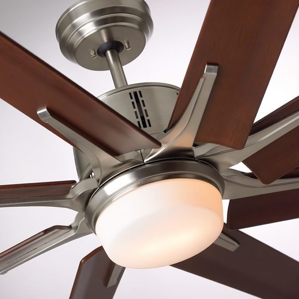 Emerson aira eco 72 inch brushed steel modern ceiling fan brushed emerson aira eco 72 inch brushed steel modern mozeypictures Images