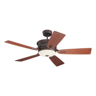 Emerson Highgrove 53-inch Venetian Bronze Transitional Ceiling Fan