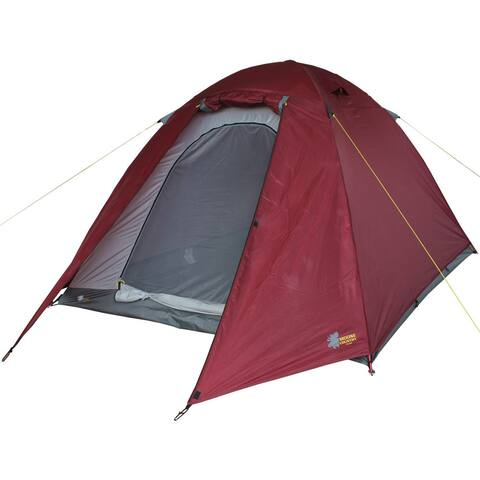 Moose Country Gear BaseCamp Maroon 4-person All-season Tent