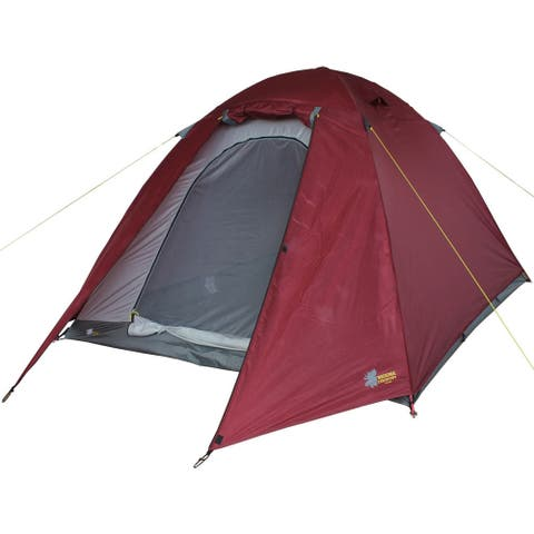 Moose Country Gear BaseCamp 2-person All-season Tent - Red