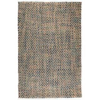 Ember Diamond Jute Rug (5' x 8')