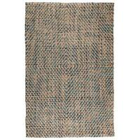 Sherwood Diamond Olive/Charcoal Area Rug by Kosas Home - 5' x 8'