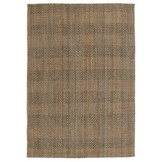 Nubia Jute Textured Rug (5' x 8')