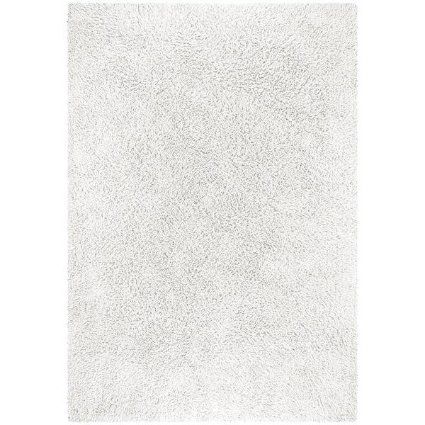 solid plush shag rug 5u0027 x 8u0027 free shipping today - Shaggy Rug