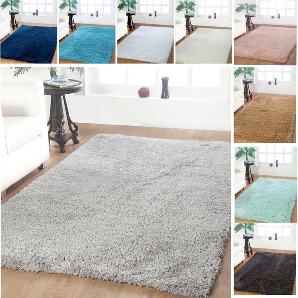 Affinity Home Soft Luxurious Plush Shag Rug (5' x 8') - 5' x 8'