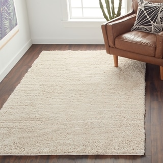 Solid Plush Shag Rug (5' x 8')
