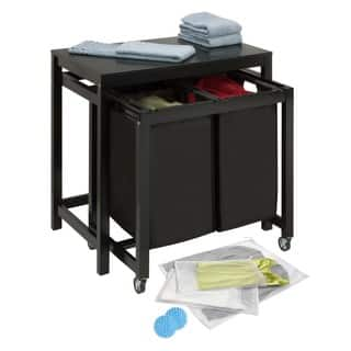 Honey Can Do LDYX05950 Double Sorter Folding Table|https://ak1.ostkcdn.com/images/products/10554092/P17633145.jpg?impolicy=medium