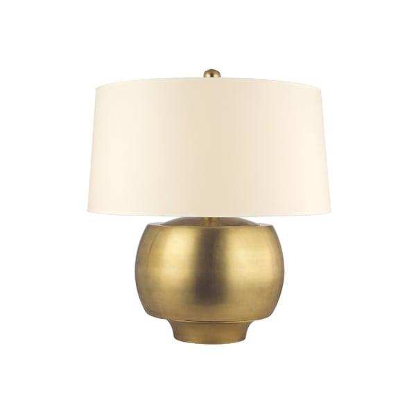 Hudson Valley Holden 1-light Brass 20 inch Table Lamp