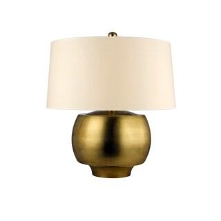Hudson Valley Holden 1-light Brass 15 inch Table Lamp