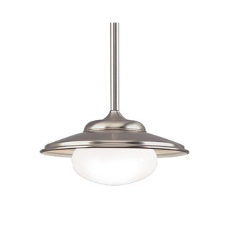 Hudson Valley Independence 1-light Satin Nickel Pendant