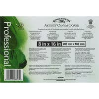 Artists' Quality Canvas Board8inX16in