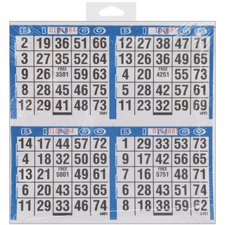 Link to Bingo Game Sheets 8inX8in 125/Pkg500 Games Similar Items in Games & Puzzles