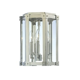 Hudson Valley Roxbury 3-light Nickel Semi Flush  sc 1 st  Overstock.com & Hudson Valley Lighting Flush Mount Lighting - Clearance ...