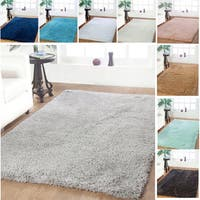 Affinity Home-soft Luxurious Plush Shag Rug - 8' x 10'